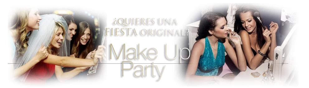 Quieres una fiesta original Make Up Party